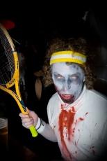 Boy tennis is fun but it makes me sweaty