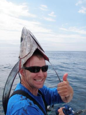 "I certainly didn't expect this to show up for my google search of ""tuna hat."""