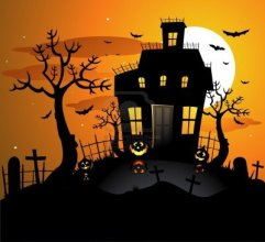 8667353-halloween-haunted-house-background